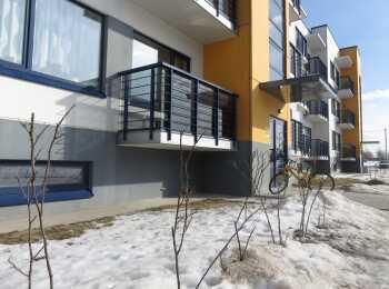 Открытые балконы в жилом комплексе Финские кварталы